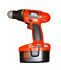 Drill / Power Screwdriver: Black & Decker CD18C Cordless Drill Cordless, Battery Powered, Chuck Size: 0.39 in. (1...