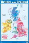 British Isles and Ireland Wall Chart by Autumn Publishing Ltd (Wallchart, 1998)