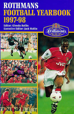 """""""AS NEW"""" , Rothmans Football Year Book 1997-98, Book"""