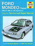 Ford Mondeo Paper Car Service & Repair Manuals
