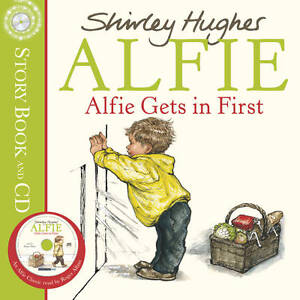 Hughes-Shirley-Alfie-Gets-In-First-audio-cd-Book