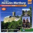 Radweg Herkules - Wartburg. Radwanderkarte 1 : 50 000