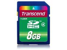 8 GB Kamera-Speicherkarten für Panasonic