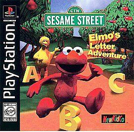 Sesame Street Elmo S Letter Adventure Sony Playstation 1 1999 For Sale Online Ebay