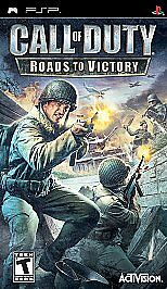 New Call Of Duty: Roads To Victory PSP Video Game