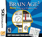 Brain Age 2: More Training in Minutes a Day  (Nintendo DS, 2007) (2007)