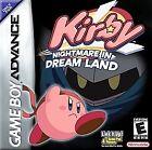 Kirby: Nightmare in Dream Land (Nintendo Game Boy Advance, 2002) - European Version