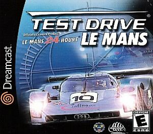 test drive le mans sega dreamcast disc only 20295150204 ebay. Black Bedroom Furniture Sets. Home Design Ideas