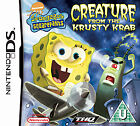 SpongeBob SquarePants: Creature from the Krusty Krab (Nintendo DS, 2006) - European Version