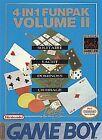 4-in-1 Fun Pak: Vol. 2 (Nintendo Game Boy)