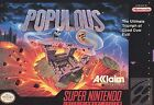 Populous (Super Nintendo Entertainment System, 1991)