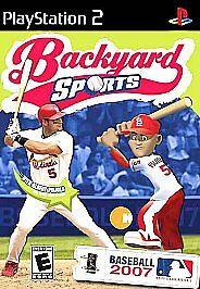 Beautiful Backyard Sports: Baseball 2007 (Sony PlayStation 2, 2006) | EBay