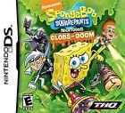SpongeBob SquarePants Featuring Nicktoons: Globs of Doom (Nintendo DS, 2008)