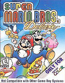 Super Mario Bros  Deluxe (Nintendo Game Boy Color, 1999)