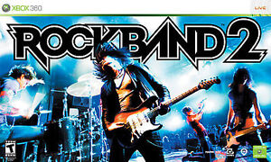 Rock band special edition + rock band 2 software for xbox® 360.