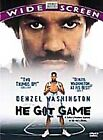 He Got Game (DVD, 1998, Widescreen) (DVD, 1998)