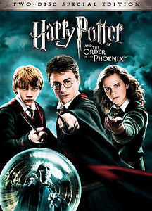 Harry Potter And The Order Of The Phoenix Two-Disc Special Edition DVD NEW  - $9.99