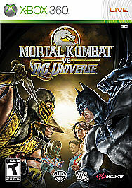 Mortal Kombat vs. DC Universe (Microsoft Xbox 360, 2008) VG