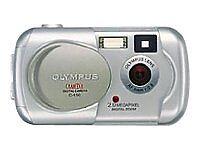 Olympus CAMEDIA D-390 2.0 MP Digital Camera - Silver
