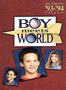 Boy Meets World - The Complete First Season (DVD, 2004, 3-Disc Set) NEW