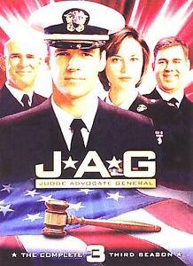 JAG (Judge Advocate General) - The Third Season New DVD! Ships Fast!