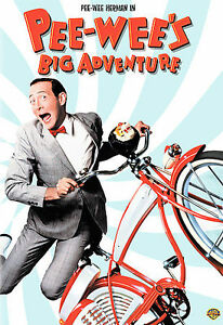Pee-Wees-Big-Adventure-DVD-like-new-Free-Shipping