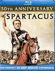Spartacus (Blu-ray Disc, 2010, 50th Anniversary Edition) (Blu-ray Disc, 2010)