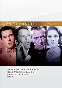 Classic Quad Set 1 Anna and The King of Siam Can Can Daddy Long Legs Star 024543640561
