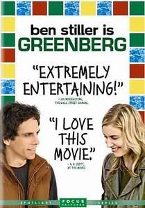 Greenberg (DVD, 2010) Ben Stiller, Greta Gerwig, Rhys Ifans, Jennifer Jason Leig