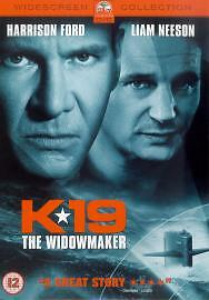 K19 The Widowmaker DVD 2003 Harrison Ford Liam Neeson  Widescreen - NEWPORT, United Kingdom - K19 The Widowmaker DVD 2003 Harrison Ford Liam Neeson  Widescreen - NEWPORT, United Kingdom