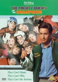 Mighty Ducks Are The Champions DVD 2001 Emilio Estevez  WALT DISNEY - Kirkliston, West Lothian, United Kingdom - Mighty Ducks Are The Champions DVD 2001 Emilio Estevez  WALT DISNEY - Kirkliston, West Lothian, United Kingdom