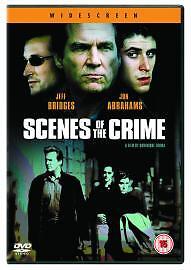 Scenes Of The Crime (NEW DVD, 2003)  Jeff Bridges