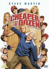 CHEAPER-BY-THE-DOZEN-Steve-Martin-DVD-FREE-1st-Class-Post