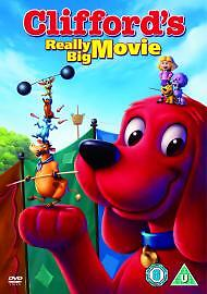 Cliffords-Really-Big-Movie-DVD-2004-New-DVD-Clifford-The-Big-Red-Dog-Rob