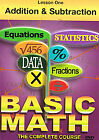 Basic Maths - Addition And Subtraction (DVD, 2008)