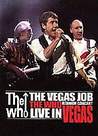 The Who - The Vegas Job (DVD, 2008)