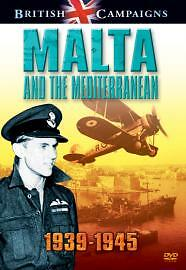 British Campaigns: Malta And The Mediterranean 1939-1945 (DVD, 2006) WW2