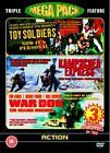Toy Soldiers / Kampuchea Express / War Dog (DVD, 2006, 3-Disc Set)