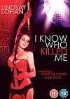 I Know Who Killed Me (DVD, 2008)