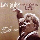 Ian Dury - Warts 'N' Audience (Live Recording, 2000)