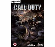 Jeux vidéo Call of Duty Call of Duty PC