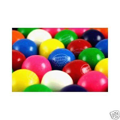 1000 Dubble Bubble Gum Balls 1 Inch Gumballs Bubble Gum $250 Value