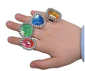 144 Large Jewel Ring Kids LOVE These! Wholesale Pricing