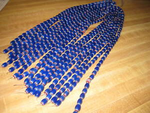 Chevron Trade Beads/Necklace/Crafts/6 layer