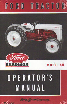 1948 49 50 51 52 Ford Tractor Owner's Manual-model 8n