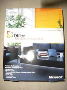 Microsoft Office Professional 2003,Sealed Retail Box,269-06738,Word,Excel,Access