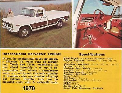 1970 International Harvester Truck Magnet
