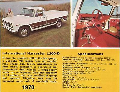 1970 International Harvester Truck Magnet
