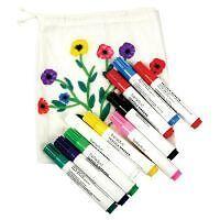 Textilstifte-10er-Set-beleduc-Stoffmalstifte-NEU-OVP