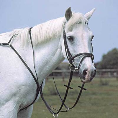 Heritage Eng Leather Breastplate Running Martingale